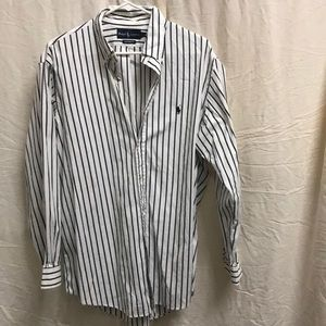 Vintage Polo Ralph Lauren Button Down Shirt Sze 17